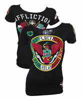 Affliction Cain Velasquez Heritage UFC Womens Shirt Small Medium Large UFC 200