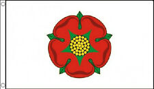 5' x 3' Old Lancashire Flag Red Rose England English County Banner