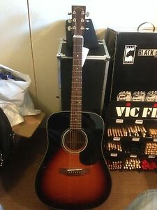 ARIA - Sunburst Acoustic Dreadnought - RRP $1099 - Ex Shop Display