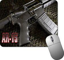 AR-15 MOUSE PAD - Firearms Mouse pad, Gun Mouse pad, Rifle Mouse pad, Pistol