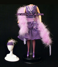 1920's Flapper Period Piece Feather Boa Fashion for Barbie Doll Q