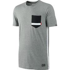 "Nike sz XXL  2XL  Manchester United Pocket Tee ""The Cliff""  NEW 484871  063 Gray"