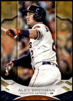 Alex Bregman 2019 Topps Tribute 5x7 Gold #46 /10 Astros