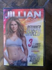 Jillian Michaels in Beginner Shred on a Dvd of Weight Loss Fitness Workout Video