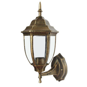 Antique Outdoor Wall Light Lamp Lantern Porch Lighting Exterior Fixture Sconce