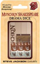 * Munchkin Shakespeare Drama Dice Set