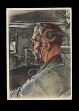 Germany Wolf Willrich Color Card Panzer Tank Soldier Vienna 1941 6p Hitler 3l