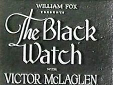 The Black Watch 1929   Victor,McLaglen, Myrna Loy  region free DVD