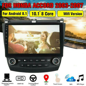 10.1'' Touch Screen Car Radio GPS Stereo For Honda Accord Android 9.1 2003-2007