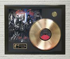 """Motley Crue Framed Lp Record Reproduction Signature Display """"M4"""""""