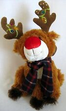 Jeweled Rudolph The Red Nosed Reindeer Plush
