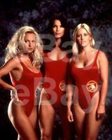 Baywatch (TV) Pamela Anderson, Alexandra Paul, Nicole Eggert 10x8 Photo