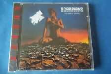 """SCORPIONS """" DEADLY STING """" CD 1995 BREEZE MUSIC SEALED"""