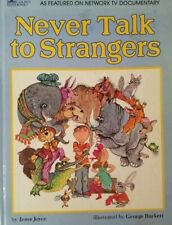 Vintage 1967 Never Talk to Strangers Book by Irma Joyce Golden book