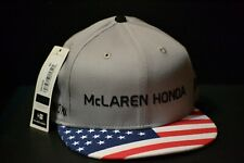 McLaren Honda formula 1 2017 Alonso & Vandoorne Speсial Edition USA Cap S/M