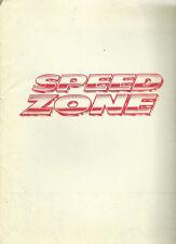 SPEED ZONE (1989) JOHN CANDY ORIG PRESS KIT+