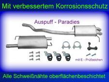 Abgasanlage Auspuff VW T5 2.0 TDi/BiTDi (62KW - 132KW) Bus / Kasten (SWB) + Kit