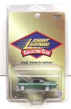 2000 Johnny Lightning 69 1969 Chevy Yengo Nova Collector Club Car+Protector Case