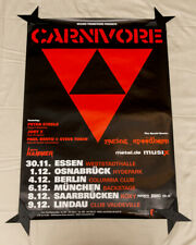 Carnivore Poster - 2007 Germany Tour - Peter Steele - Type O Negative - Original