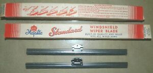 "Standard 8 1/4"" Wiper Blades_1930s Chrysler_Cadillac_Plymouth_Dodge_Pierce-Arrow"