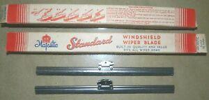 "Standard 8 1/4"" Wiper Blades_1930s Chrysler_Cadillac_Plymouth_Dodge_Pierce-Arrow"