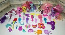Lot of 44 My Little Pony Figures Unicorns Ponies Accessories Combs 2005-2010