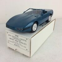 1994 ERTL AMT Chevrolet Corvette Convertible Aqua Metallic Promo Model Car