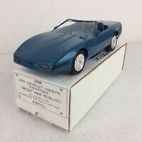 1994 ERTL AMT Chevrolet Corvette Convertible Aqua Metallic Promo Model Car