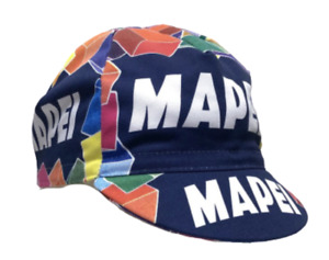 Mapei Vintage Professional Team Cycling Cap - Made in Italy by Apis