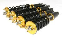 FOR 88-91 Honda CRX/Civic Coilover Suspension Kit GOLD