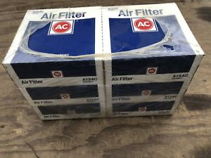 (6 Pack) NOS AC Delco A134C Air Filters Cleaner Element