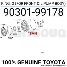 O FOR FRONT OIL PUMP BODY 9030199024 Genuine Toyota RING 90301-99024