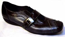 sz 9.5 / 41 UTV Patent Leather Flats very chic quality French shoes comfy BNIB!