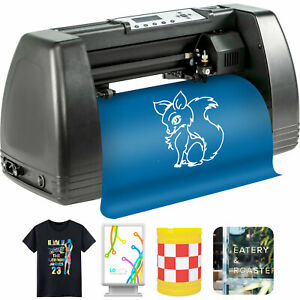 """Vinyl Cutter Plotter Cutting 14"""" Sign Maker LCD Display advertisement Craft Cut"""