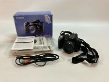Canon Powershot SX10 IS Digital Camera Black point and shoot 10 MP FOR PARTS -N3