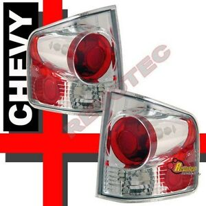94-04 Chevy S10 GMC Sonoma Pick up Truck Chrome Tail Lights 1 Pair