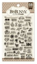 Bo Bunny  - Clear Stamp Icons (58 Stück)
