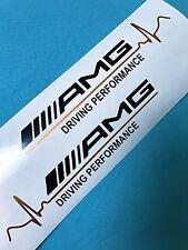 2x AMG Driving Performance  Copper Pulse Aufkleber Car Bumper Window Sticker 153