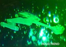 Hologrammbild, 3D, Hologramm, Holographie, Klingon Raumfahrt History Star Trek