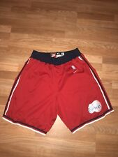 Game Worn NBA Los Angeles Clippers Red Nike Xlarge Basketball Shorts