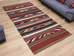 4.95' x 9.65' Kilim Rug Caucasian OLD FAST Shipment With UPS 3233