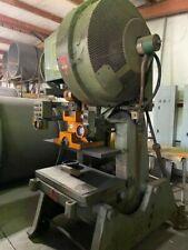 60 Ton L Amp J Punch Press Model W60 Serial 50b248a