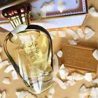 Turab Al Dhahab  EDP 100ml for Women Musk Ginger Coconut Jasmine With Free Gift