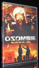 DVD OSOMBIE - BIN LADEN WILL DIE AGAIN - OSAMA - Zombie-Horror - FSK 18 * NEU *