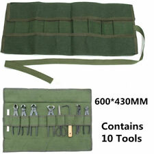 Army Green Japanese Bonsai Storage Bags Case Set Canvas Scissors Pliers Tool