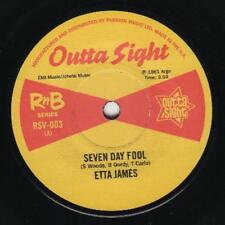 "ETTA JAMES * Seven Day Fool + TINY TOPSY * Just A Little Bit 7"" Neu*Outta Sight*"
