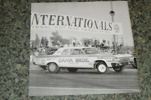 ★★1964 DODGE 330 NHRA DRAG RACING PICTURE FEATURE PRINT PHOTO 64 63 1963★★