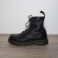 Dr. Martens Black Air-Cushioned Leather 1460 Carpathian Combat Boots Mens Size 9