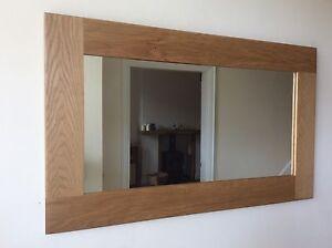 *Beautiful Quality Handmade Solid Oak Wooden Mirror*