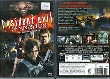 RESIDENT EVIL DAMNATION - DVD (USATO EX RENTAL)